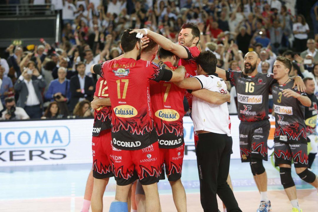Sir Sicoma Colussi Perugia Takes Five Setter, Will Play in CEV Final