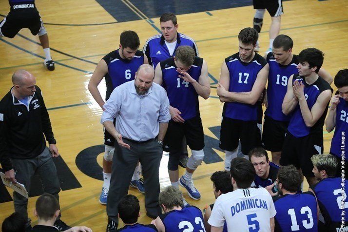 Dominican University's Daniel Ames Named NCAA D3 Coach of the Year