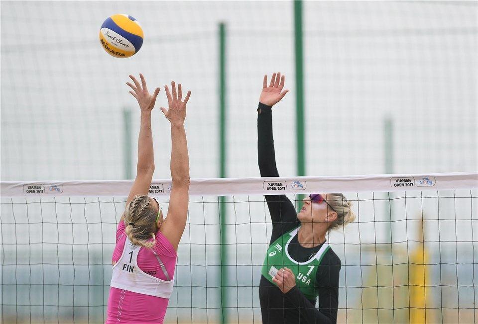 Americans Day/Hochevar Move Into Xiamen Women's Quarterfinals