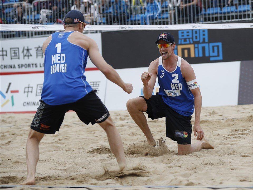 Dutch Pair of Brouwer/Meeuwsen Wins Xiamen Men's Gold