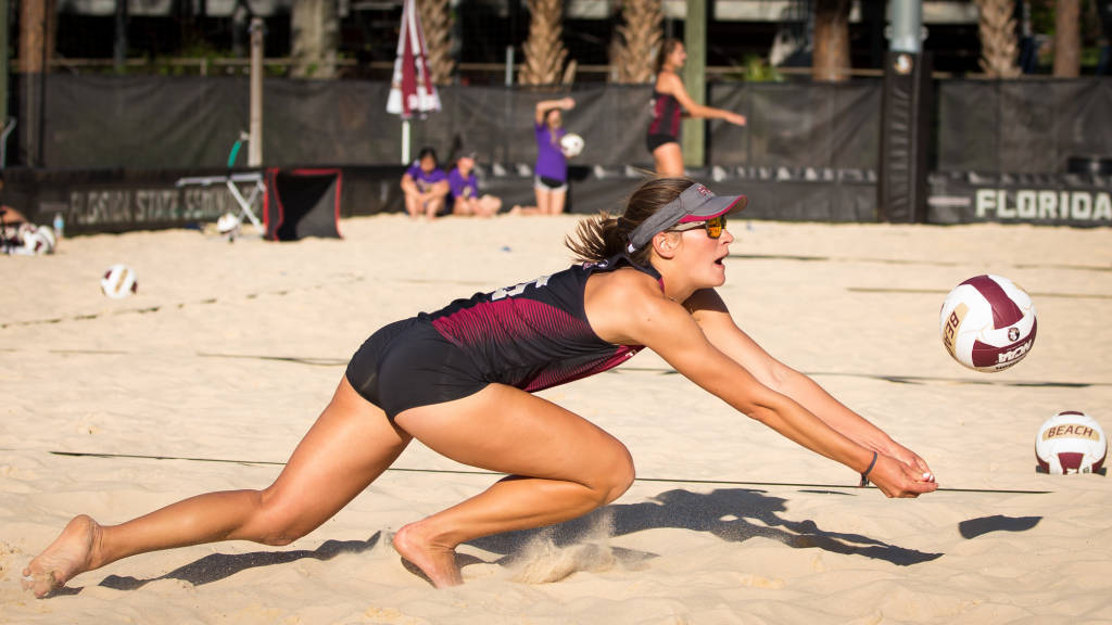 Dominance from Andrew and Kuhlman Leads FSU Beach Over TCU, FAU