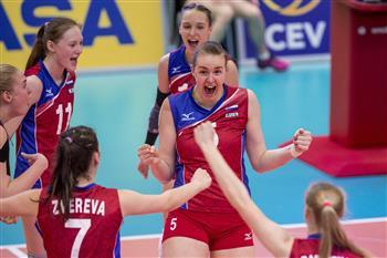 Russia Fights Past Five To Take European Girls' U18 Title From Italy
