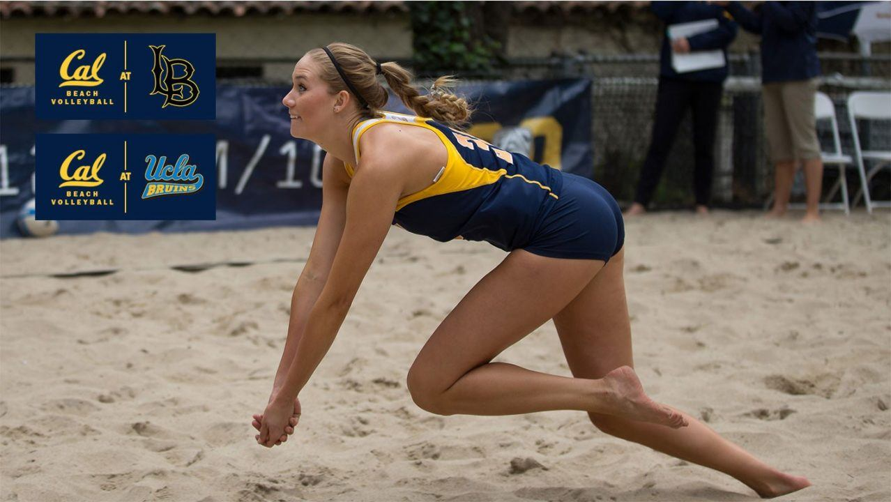 Cal Beach Preps For Busy Stanford Tournament