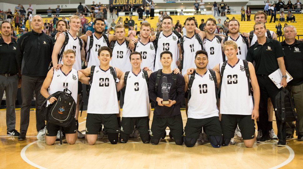 Long Beach State Wins First-Ever MPSF Men's Volleyball Title