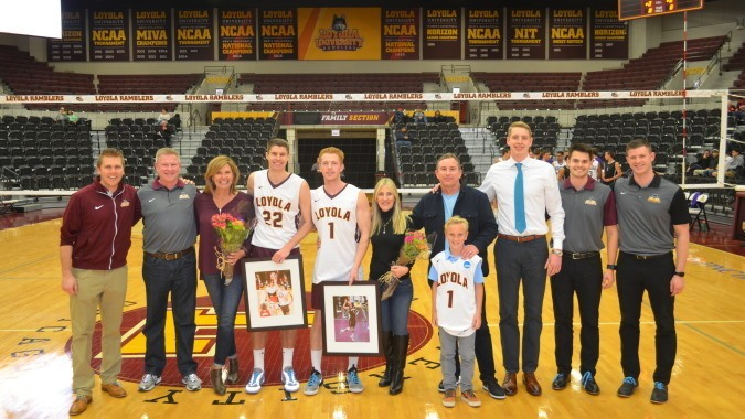 #10 Loyola Avenges Friday Loss on Senior Night With 3-0 Sweep of GCU