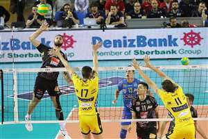 Lube Civitanova Sweeps Trentino In First Round Of Italian Men's Finals