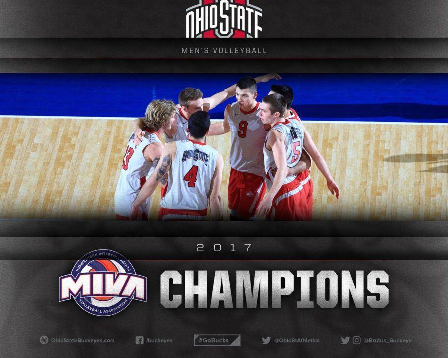 Ohio State Men Nab 16th MIVA Tourney Title