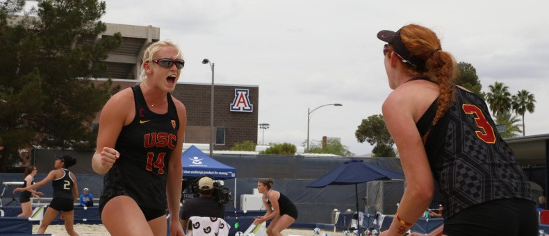 USC's Claes & Hughes Earn Second Straight Pac-12 Pair Of The Year
