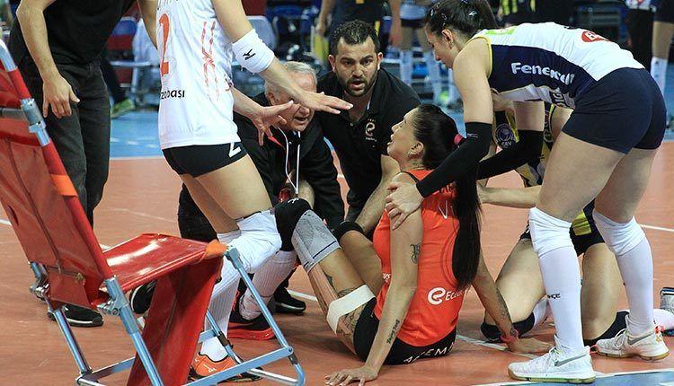 Thaisa Daher sets Return Date to Eczasibasi After Gruesome Injury