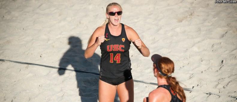 #1 USC Beach Tops #5 Long Beach State 4-1 (4/20 Scoreboard)