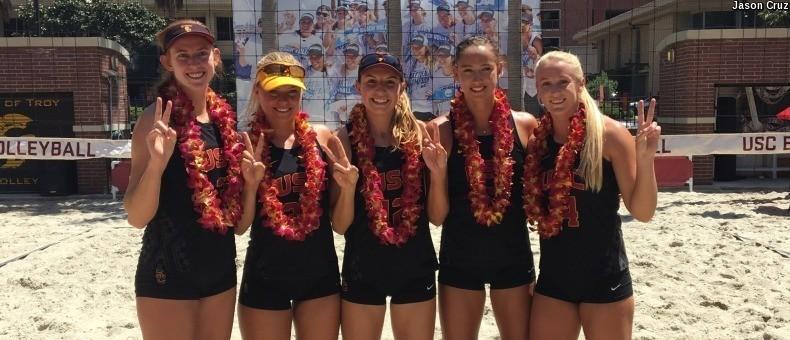 #1 USC Beach Beats #2 UCLA for 60th-Straight Win (4/22 Scoreboard)