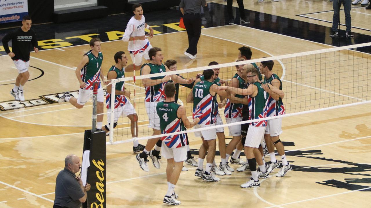 Hawaii Moves To #3 In This Week's Men's AVCA Coaches Poll