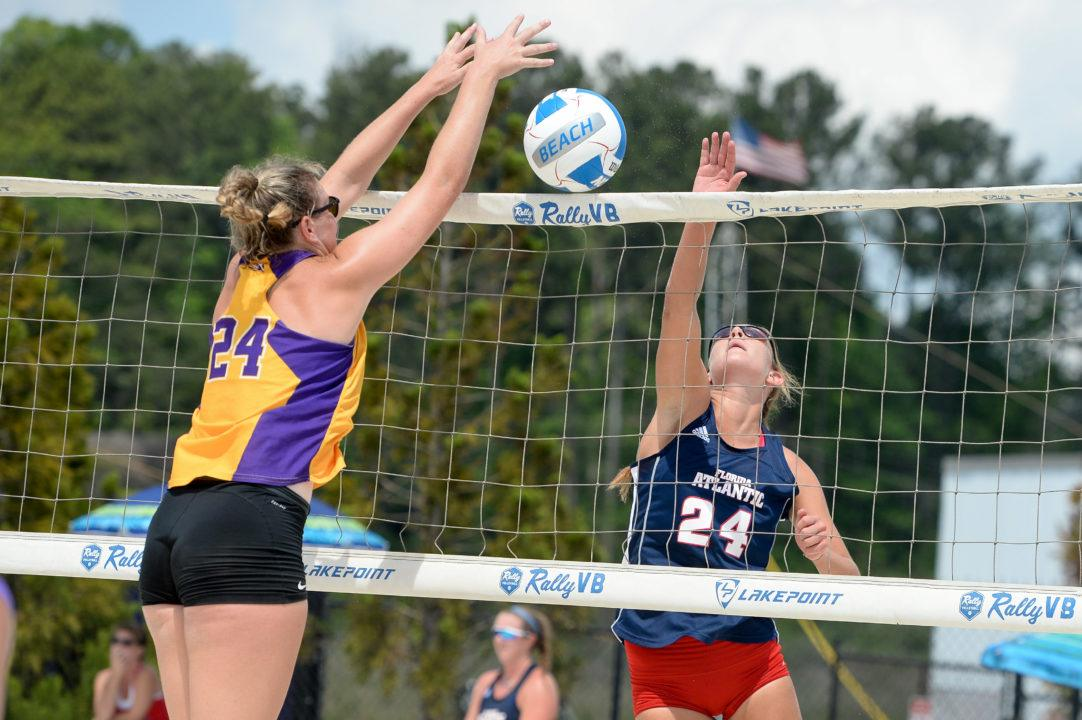 LSU Beach Volleyball Earns Tiger Cup for 2017-18 Season