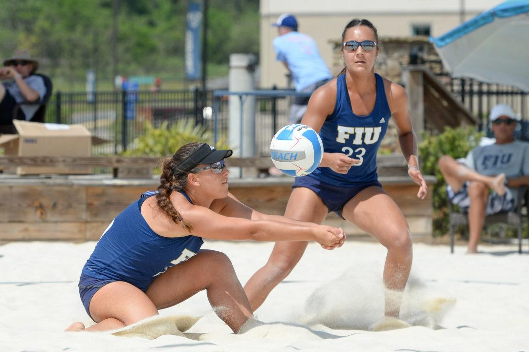 FIU Moves To #9 In This Week's AVCA Coaches Beach Poll
