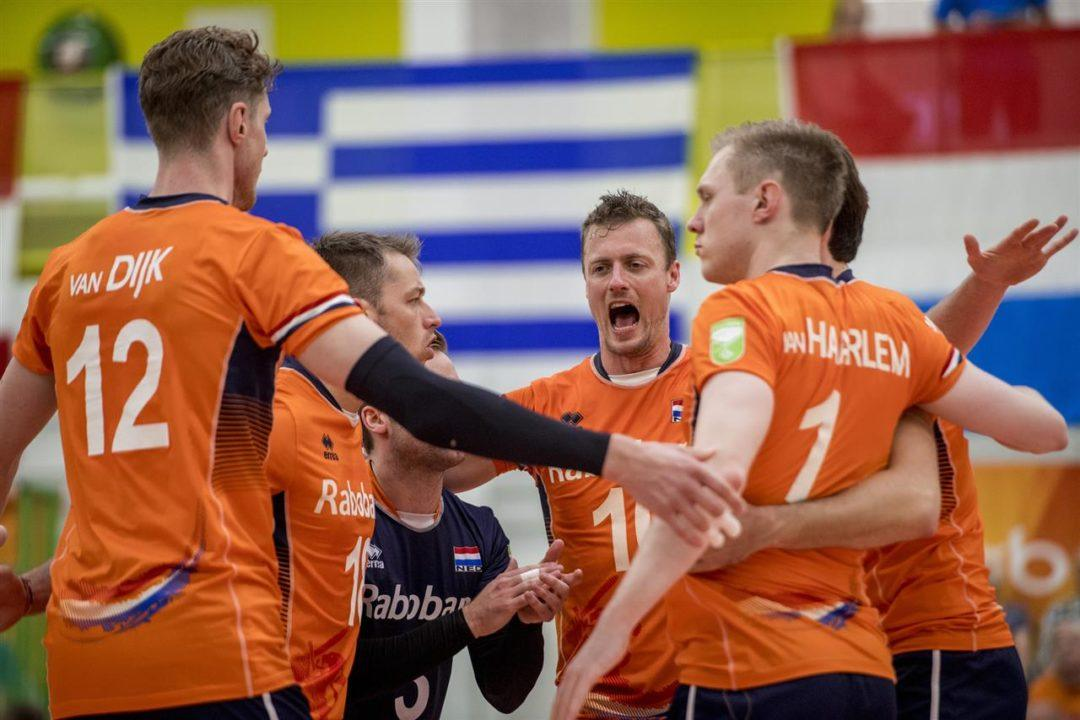 Pool B Concludes Day 1 With Four Set Wins At Men's European Qualifier