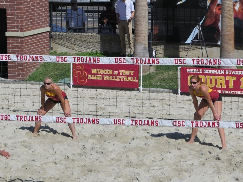 USC's Claes/Hughes, Two Other Pool A Teams Earn Bid to Round of 16