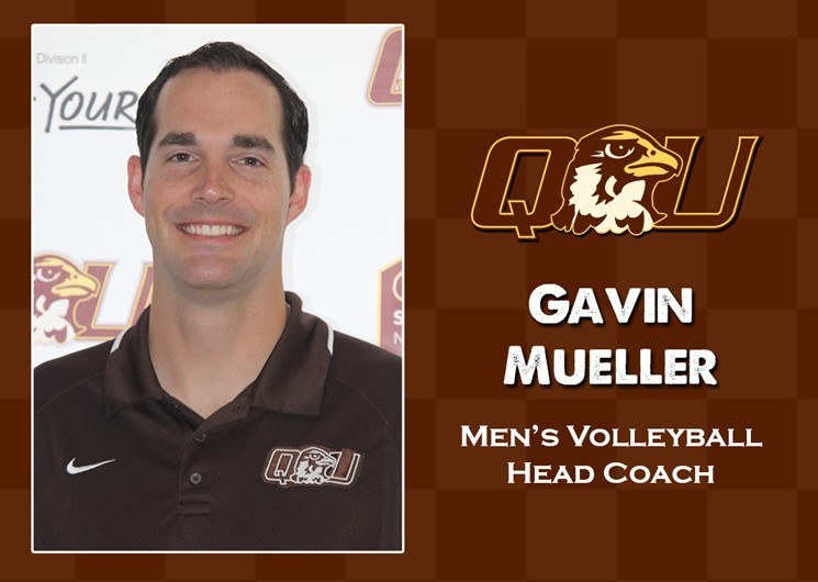 Quincy Promotes Gavin Mueller as New Head Men's Volleyball Coach