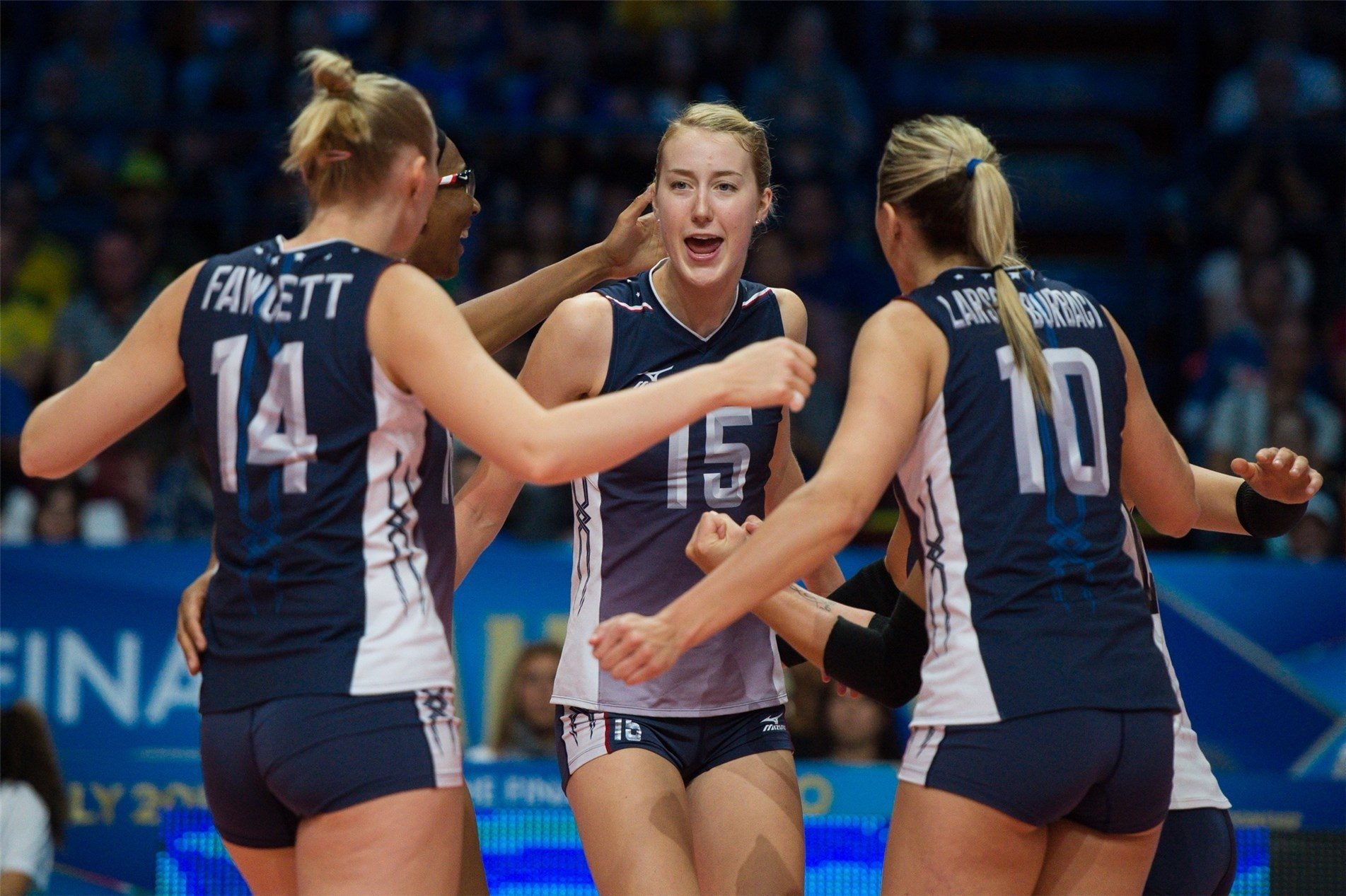 Team Usa Women Will Host Brazil For 2017 Usa Volleyball Cup