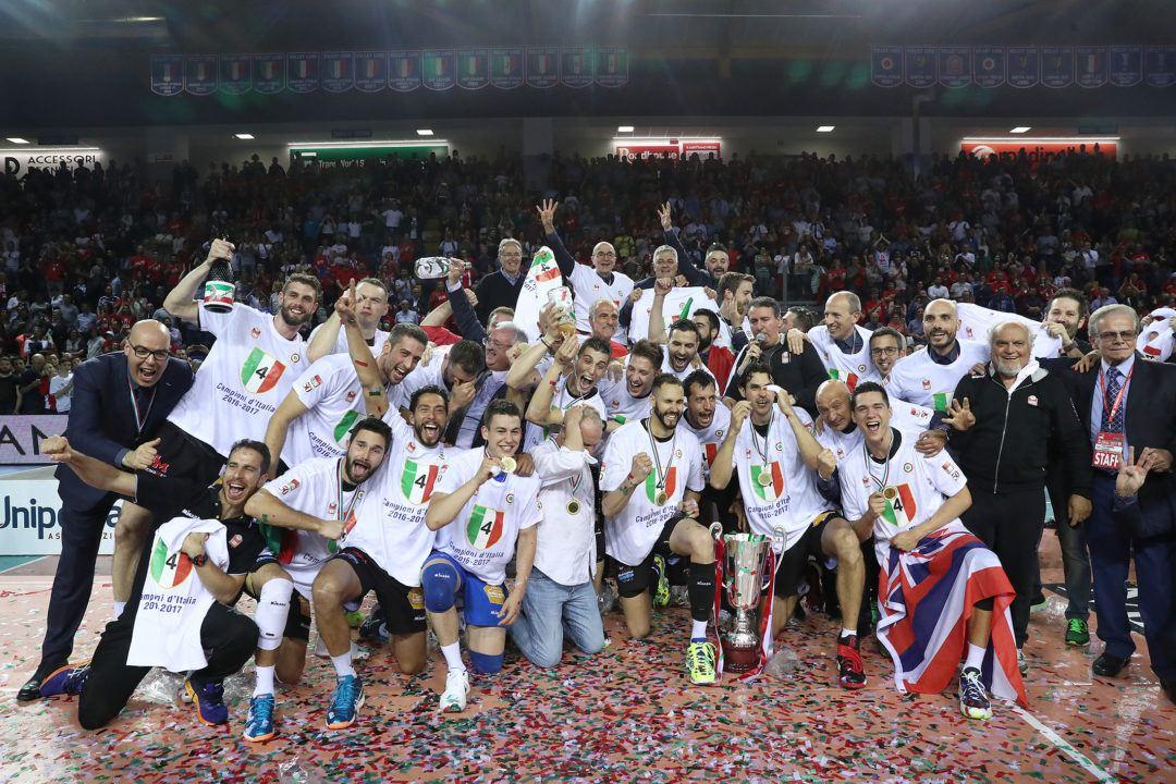 La Cucine Lube Civitanova Sweeps Italian Serie A1 Title