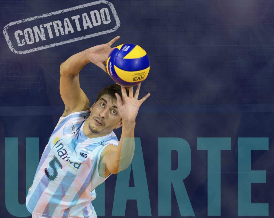 Argentina's National Team Setter Nicolas Urirate Joins Sada Cruzeiro