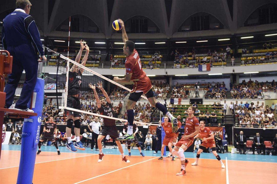 Aces Were Wild in Men's Qualifying Pool A