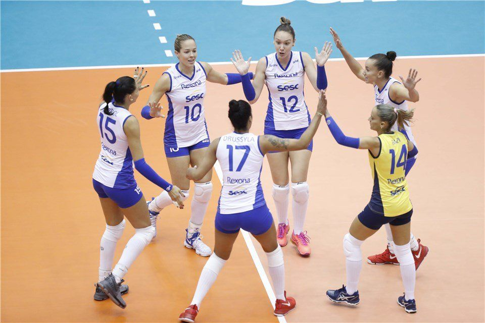 Vakifbank Istanbul, Rexona SESC Break Into Club Worlds Semifinals