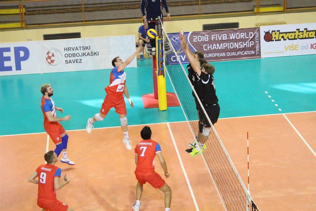 Serbia Hits 65 Percent in Sweep of Swiss