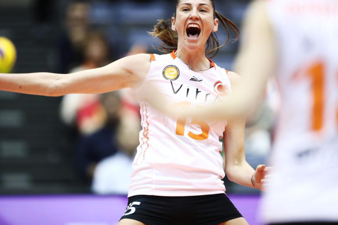 Tatyana Kosheleva Spurns Galatasaray Offer for Brazilian Side Sesc RJ