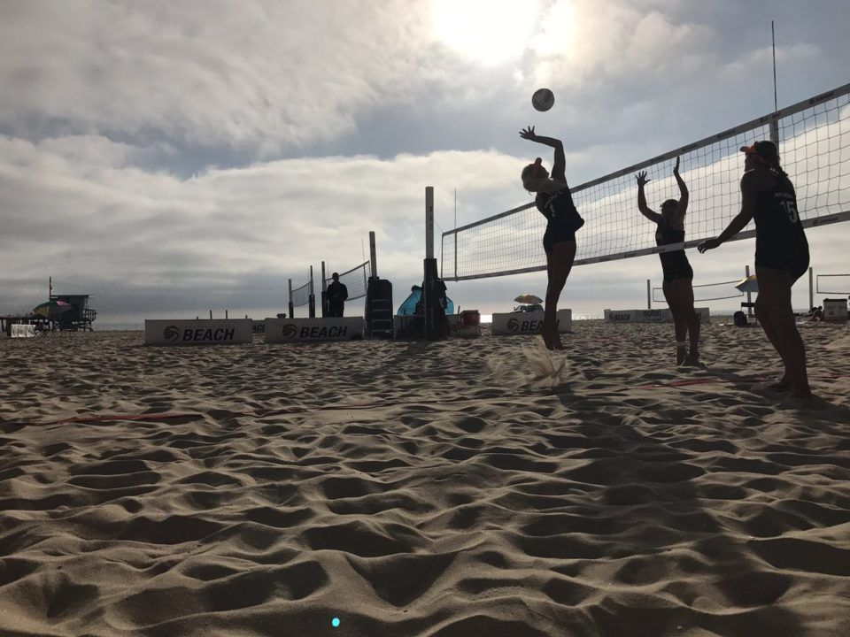 Two Trojan Duos Advance to Beach Pairs Semifinals