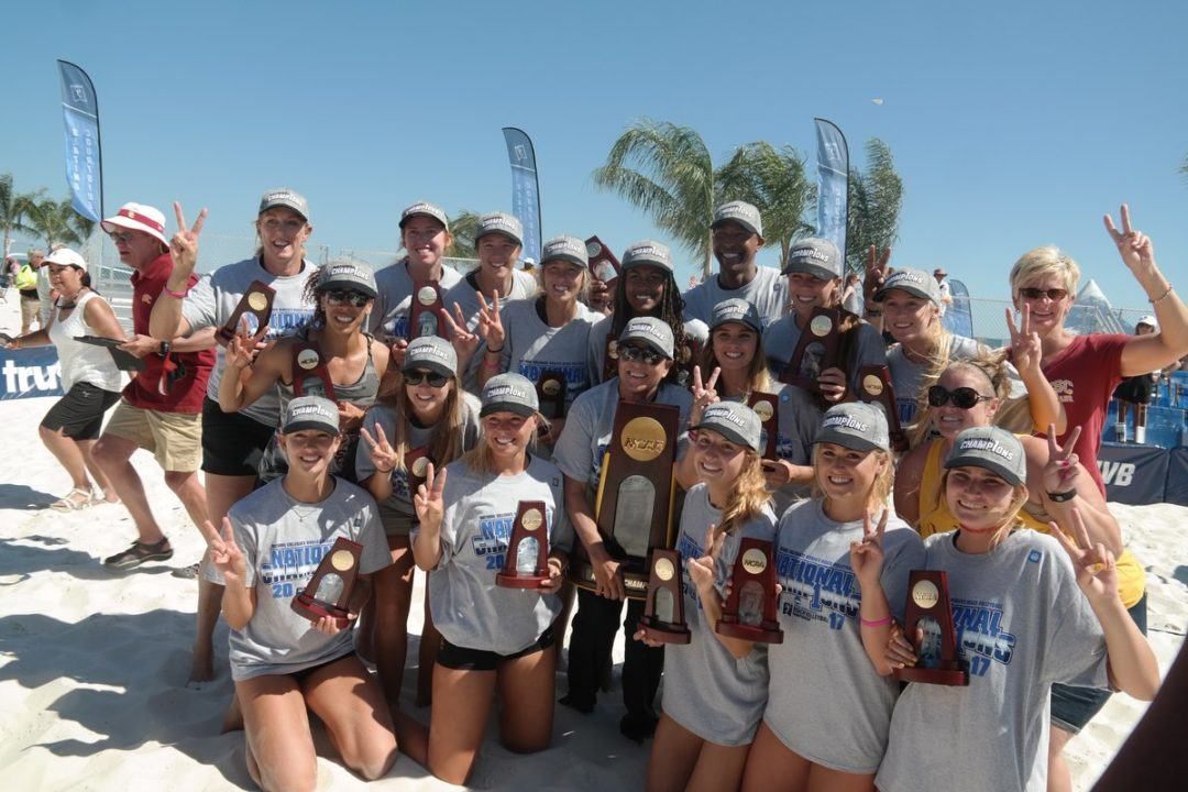 No. 1 USC Claims Second-Straight NCAA Beach Title
