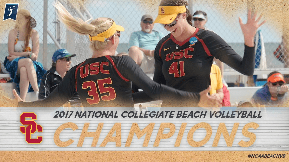 Congratulations to NCAA Beach Champions, USC
