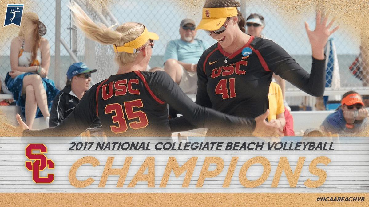 Congratulations to NCAA Beach Champions, USC