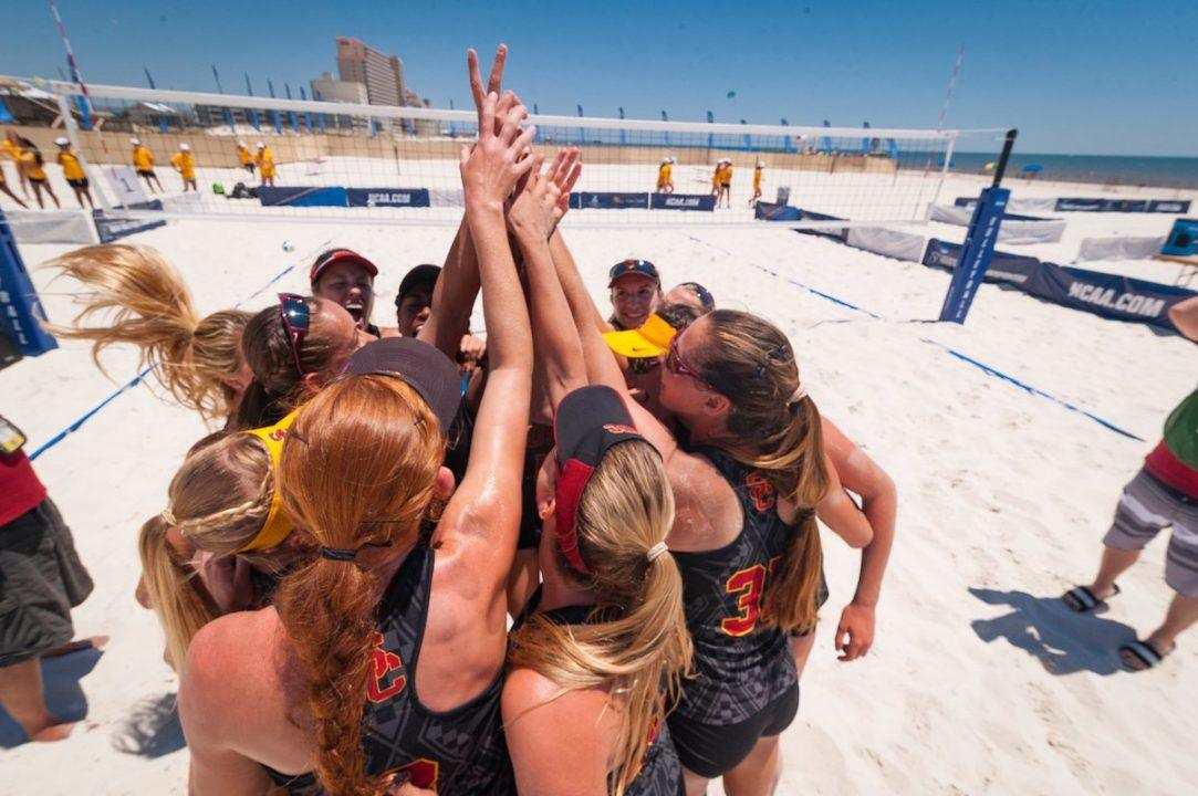 Beach Pairs Women's Quarterfinals Boast Teams from 7 Schools