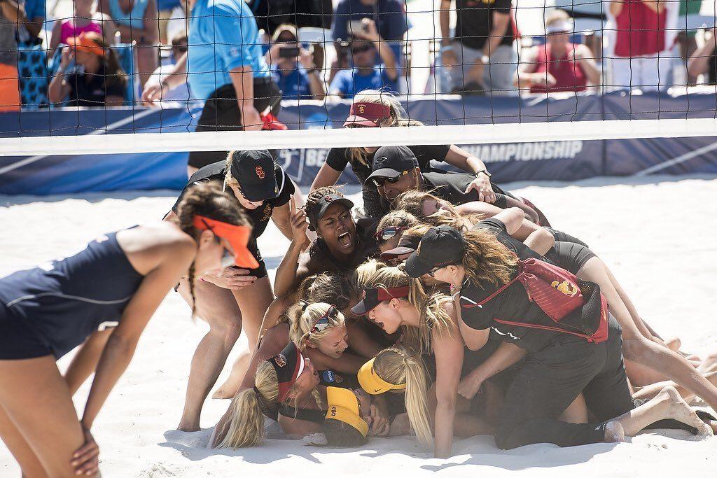 NCAA Beach Championships Draw Better Ratings Than Men; Still Dip