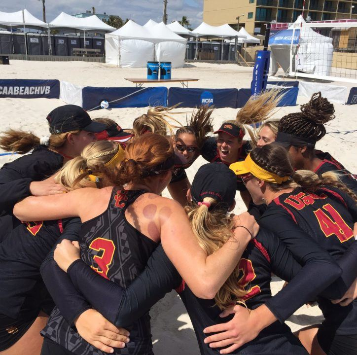 Day 2 of NCAA Beach Championships Features Four Matches