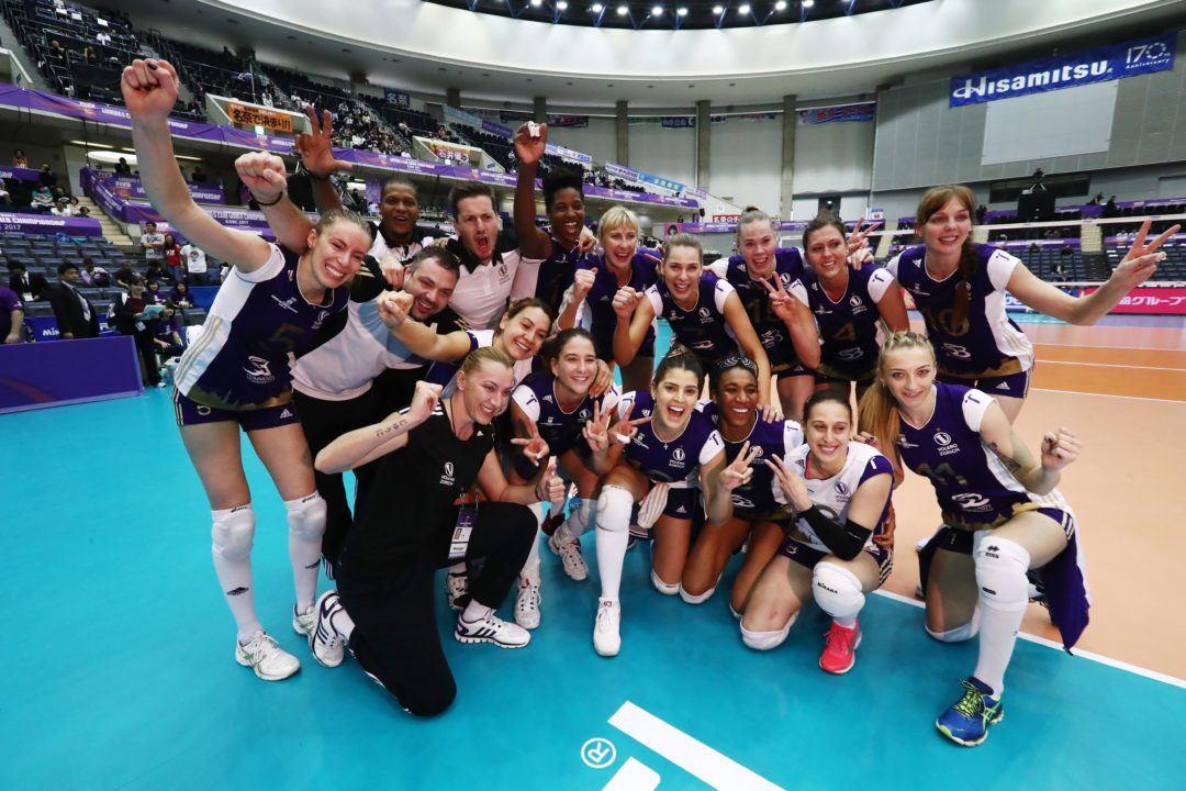 Volero Zurich Outlasts Eczacibasi for Club Worlds Bronze