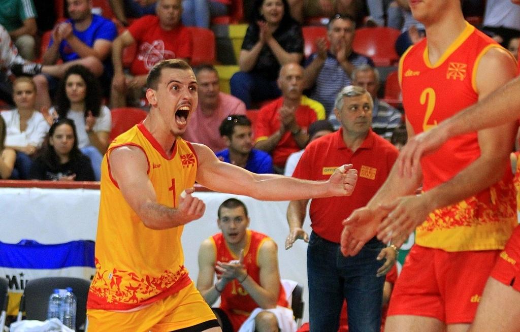 2017 Men's European Volleyball League Final 4 Set