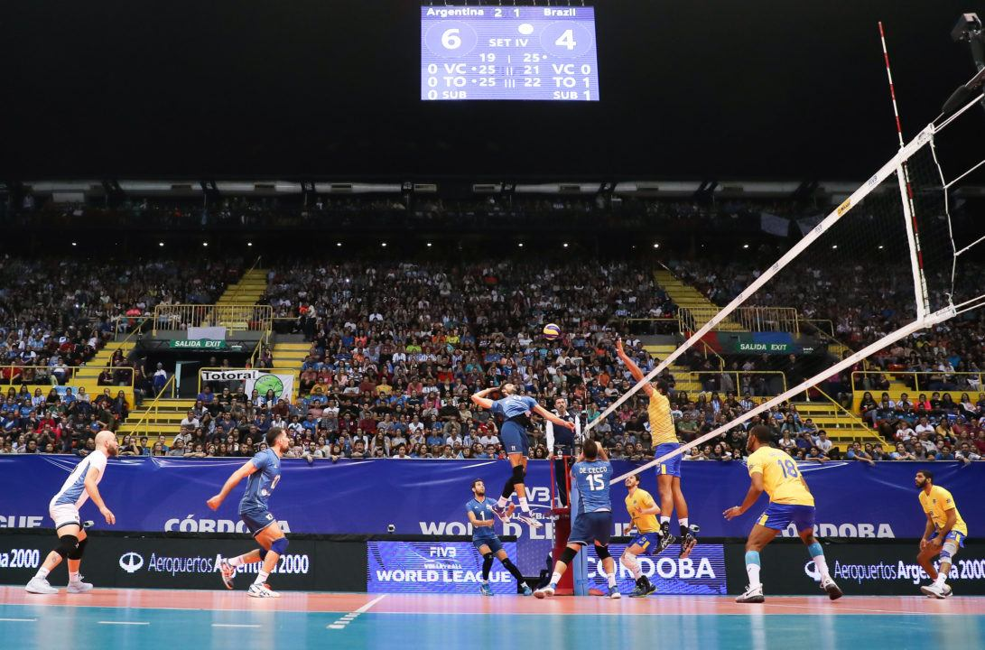 Argentina-Brazil Hits Highest Attendance Of World League Group 1