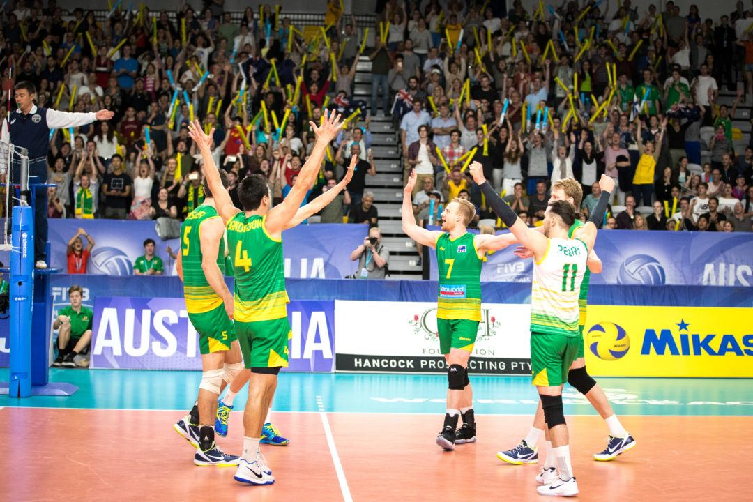 Australia Claims 3rd in World League Group 2 in Front of a Home Crowd