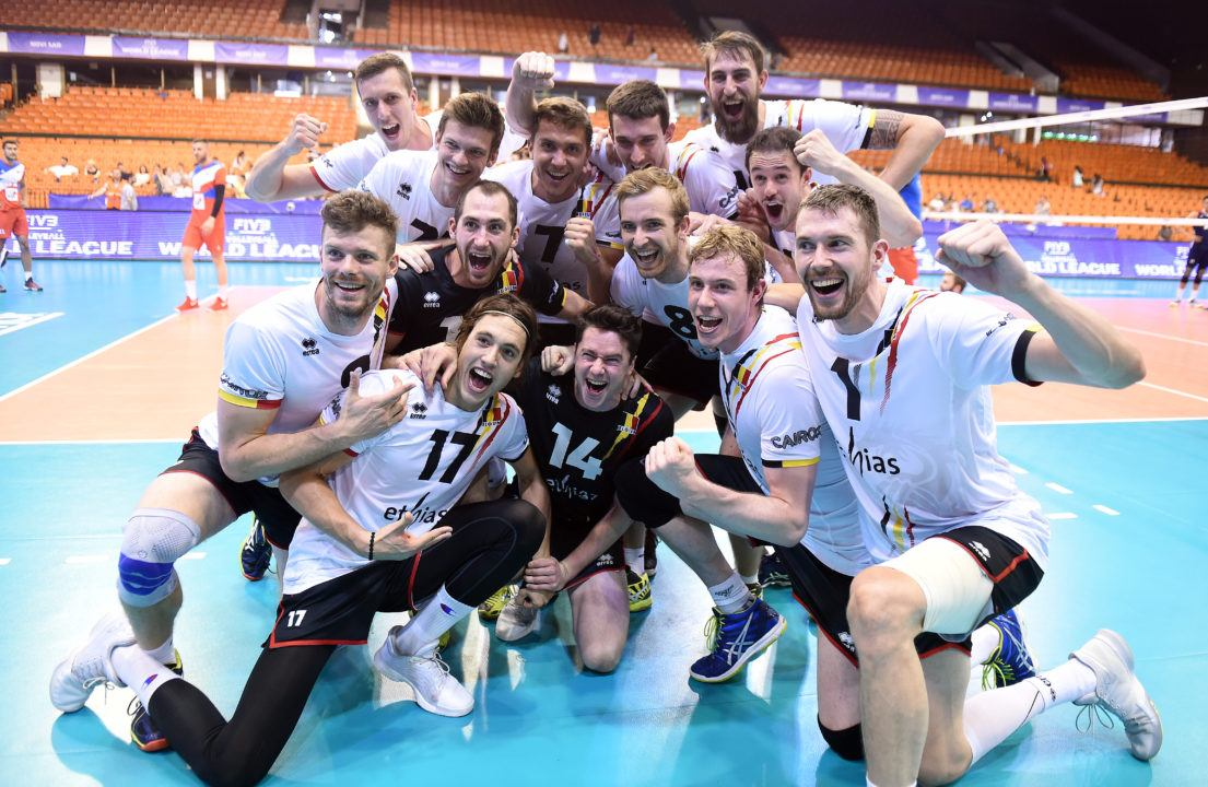 United States Men Only 0-3 Group 1 Team at World League Play