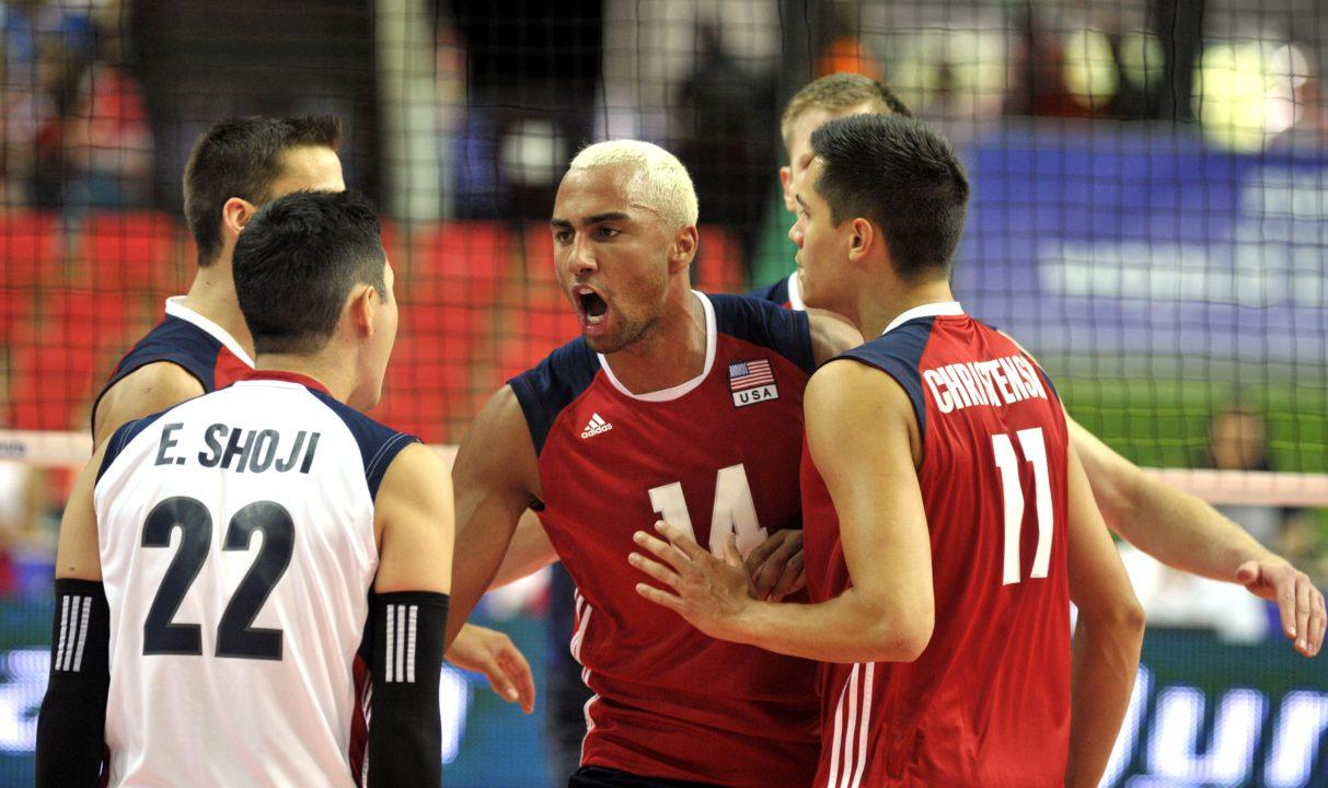 Ben Patch Leads Team USA To Three-Set Sweep Over Iran