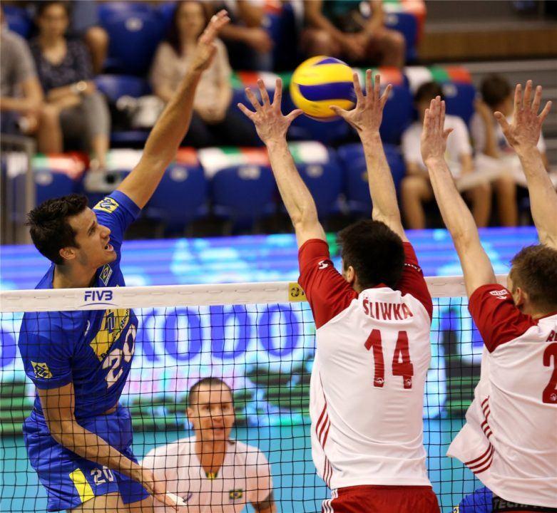 Brazil Avenges Loss, Downs Poland for Pool E1 Lead