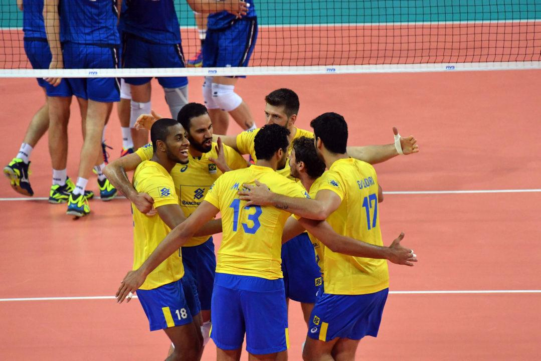 Brazil To Use 10 Olympians In World League Finals