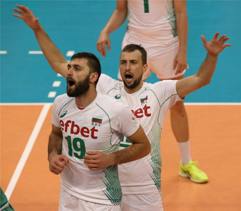 Bulgaria Upends Brazil in Final Day of Pool E1