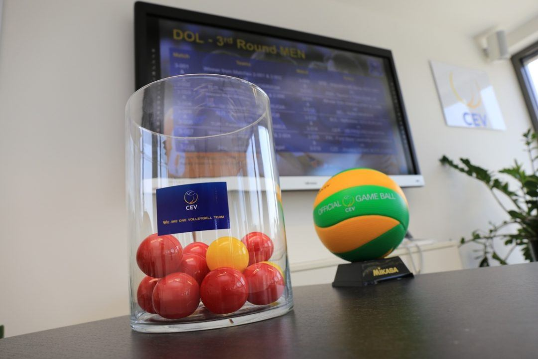 2nd/3rd Round Drawings Set for Men's CEV Volleyball Champions League