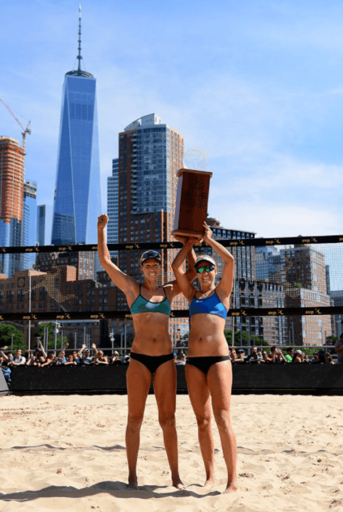 April Ross/Lauren Fendrick Earn First AVP Tour Title As Partners