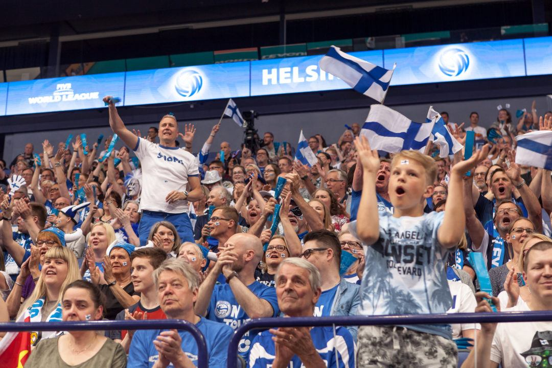 More Than 6400 Watch Finland Down China 3-1