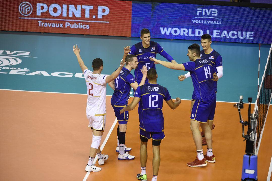 France Will Start World League Finals With Team USA