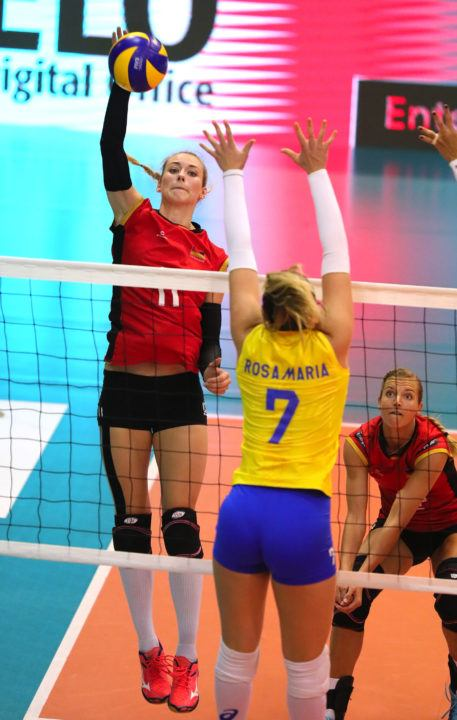 Louisa Lippmann Talks About Her Hopes For German Female Volleyball