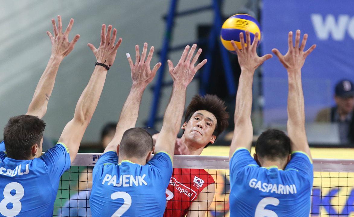 Slovenia Uses 21 Blocks To Defeat Korea In Four